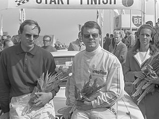 Roger Clark British racing driver