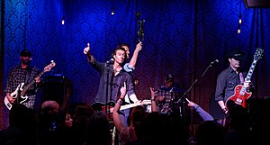 Roger Clyne and the Peacemakers - Roger Clyne and The Peacemakers at Saint Rocke in 2015