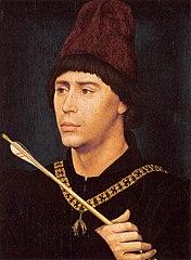 Portrait of Antoine, 'Grand Bâtard' of Burgundy