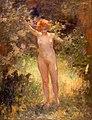 Roll Alfred - Femme nue au milieu des branchages.jpg