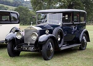 Park Ward - 1928 Rolls-Royce Twenty landaulette