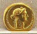 Roma, repubblica, moneta di c. vibius varus, 42 ac. oro.JPG