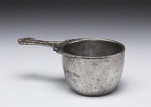 Staffordshire Moorlands Pan - A complete trulla in silver