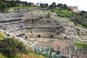 Roman Amphitheatre of Cagliari - Roman Amphitheatre of Caralis (Cagliari)