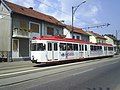 Romania Resita PRESCOM tram (9493570341).jpg
