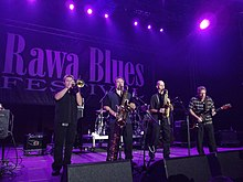 Performing at the 2012 Rawa Blues Festival