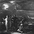 Rosa - Cristo guarisce i due indemoniati di Gerasa, Collezione Incisa della Rocchetta.jpg