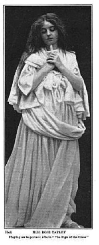 """Rose Tapley - """"The Sign of the Cross"""" Theatre Magazine 1904"""