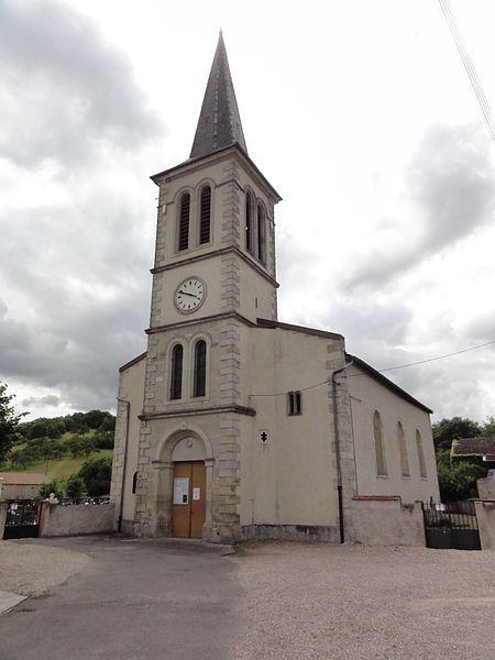 Roville-devant-Bayon (M-et-M) église
