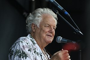 Peter Rowan - Peter Rowan on the Americana Stage at MerleFest in 2017.