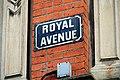 Royal Avenue sign, Belfast - geograph.org.uk - 1775794.jpg