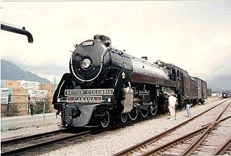 Royal Hudson - Image: Royal Hudson 2860 in Squamish BC