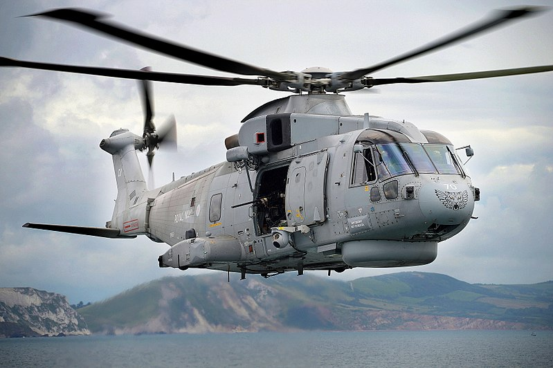 File:Royal Navy Merlin Helicopter MOD 45155806.jpg