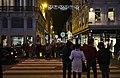 Rue Neuve at night, from De Brouckere side, Brussels, Belgium (DSCF1349).jpg