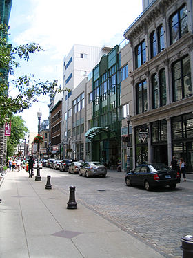 image illustrative de l'article Rue Saint-Joseph (Québec)