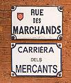 Rue des Marchands (Toulouse) - Plaques.jpg