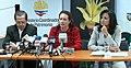Rueda de prensa conjunta del Canciller Patiño y las Ministras Espinosa y Aguiñaga, sobre los resultados de la COP 16 en Cancún (5257915715).jpg
