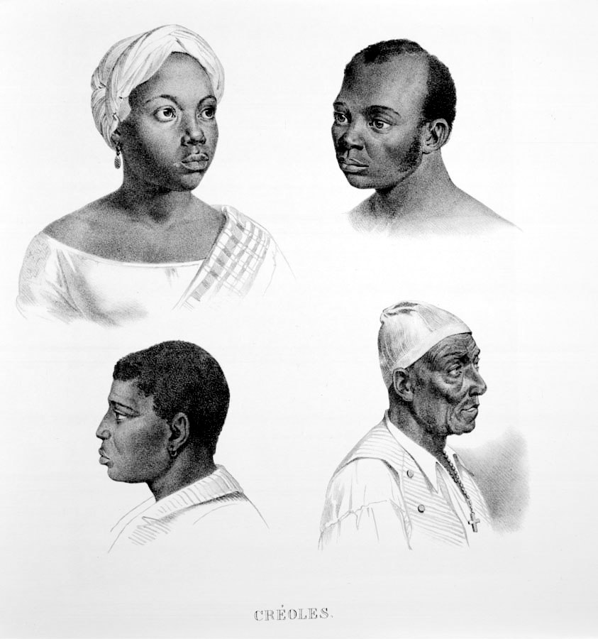 Rugendas - Escravos Crioulos
