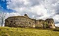 Ruinele cetății Bologa, vedere Vestică.jpg