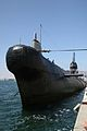 Russian B-39 submarine sits at the Maritime Museum of San Diego.JPG