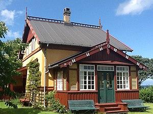 Ålsgårde - Rytterhuset, a listed summerhouse from 1899