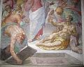 S. marco, cripta della cappella salviati, resurrezione di lazzaro di g.b. naldini 05.JPG