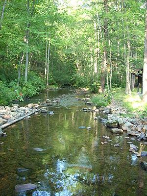 Lewis Township, Union County, Pennsylvania - Sand Bridge State Park is a Pennsylvania state park along Pennsylvania Route 192 in Lewis Township.
