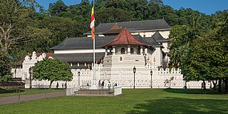 Temple of the Tooth Historic Buddhist temple in Kandy, Sri Lanka