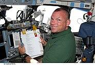 STS132 Tony Antonelli inorbit2