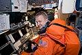 STS133-Eric Boe Jan10.jpg