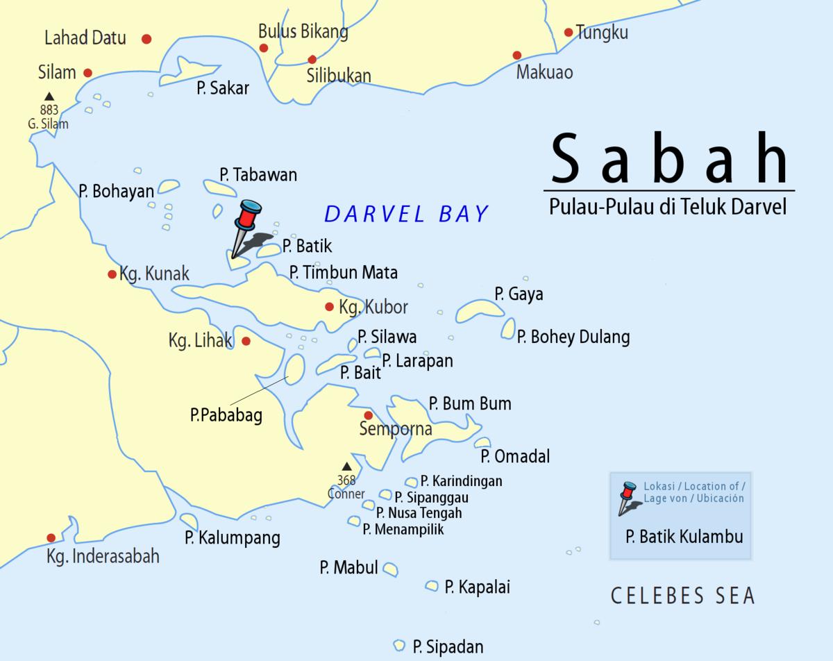 Pulau Batik Kulambu - Wikipedia Bahasa Melayu, ensiklopedia bebas