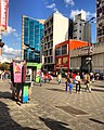 Sabana Grande Caracas, la arquitectura del bulevar de Sabama Grande. Torre Centrum, Banco Unión y Edificio Las Palmas (Arturo's) Foto de Vicente Quintero.jpg