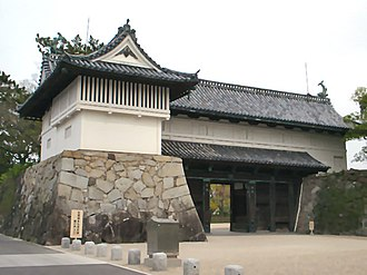 Saga Prefecture - Saga Castle (Shachi gate)