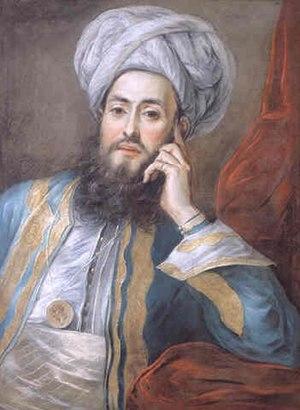 Yirmisekizzade Mehmed Said Pasha - Mehmed Said in Paris in 1742, by Charles-Antoine Coypel.