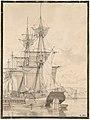 Sailing Vessels at Wilders Plads, Copenhagen MET DP108223.jpg