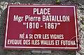 Saint-Cyr-les-Vignes - Place Mgr Pierre Bataillon (plaque).jpg