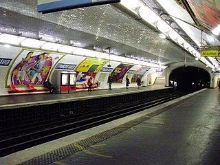Saint-François-Xavier (Paris Métro) Paris Métro station