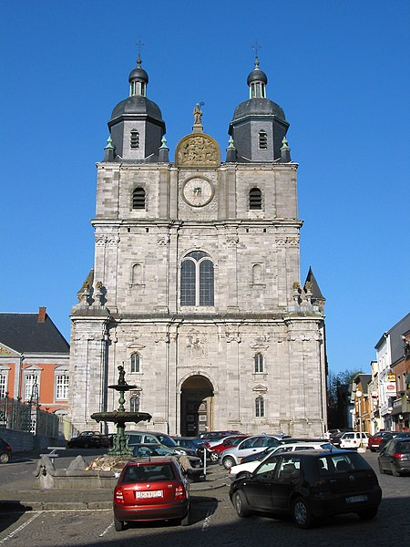 Saint-Hubert, Belgium, the Saints Peter and Paul basilica (16/18th centuries).