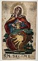 Saint Mary Salome. Coloured etching. Wellcome V0033326.jpg