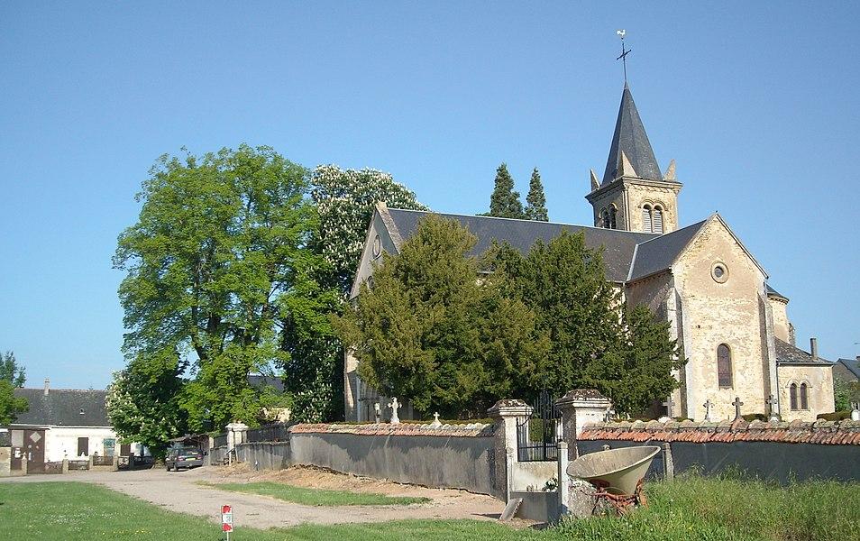 Église de Sainte Marie XIXème siècle (Nièvre)