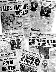 Jonas Salk - Wikipedia, the free encyclopedia