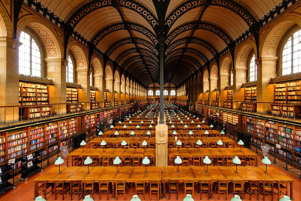 File salle de lecture bibliotheque sainte genevieve n02 - Piscine sainte genevieve ...