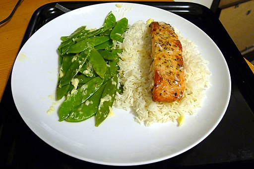 Salmon with Lime & Garlic Butter (4437041010)