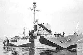 USS <i>Salute</i> (AM-294)