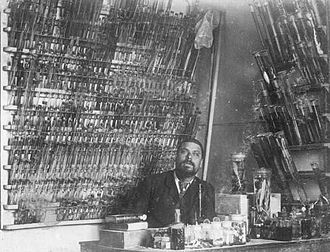 Stazione Zoologica - Salvatore Lo Bianco in November 1889. His preservation methods were so advanced that collections of preserved marine organisms were sold to clients from all over the world