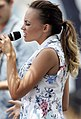 Samantha Jade performs at Bondi Beach (8457912172).jpg