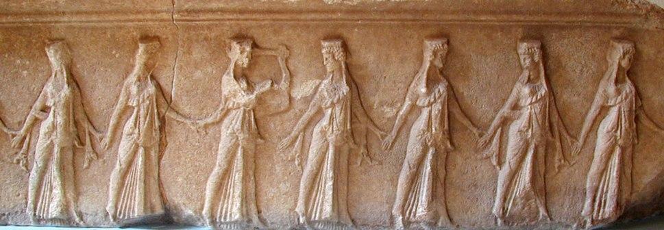 Samothraki choral dancers