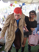 File:San Diego Comic-Con 2011 - Tin Tin gets bonked (5991274759).jpg
