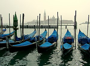 English: Church of San Giorgio Maggiore from P...