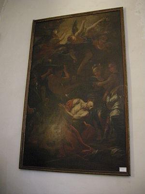 Pietro Dandini - Image: San Giovannino dei cavalieri, pier dandini, decollazione del battista